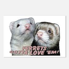 Gotta Love'em Postcards (Package of 8)