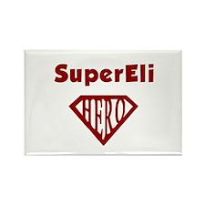 Super Hero Eli Rectangle Magnet