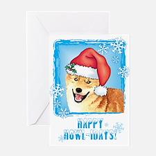 Holiday Shiba Inu Greeting Card