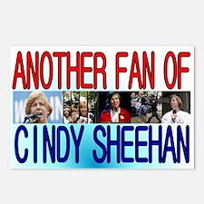 Fan of Cindy Sheehan Postcards (Package of 8)