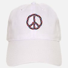 Peace Yarn Baseball Baseball Cap