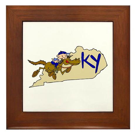 Kentucky Pride! Framed Tile
