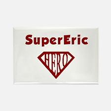Super Hero Eric Rectangle Magnet