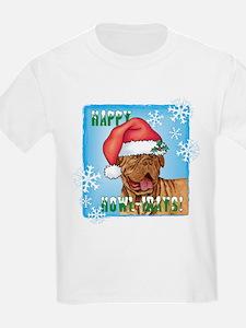 Holiday Dogue de Bordeaux T-Shirt