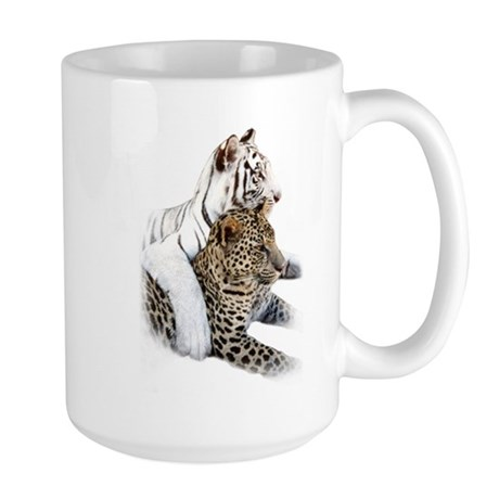 Tiger and Leopard mug