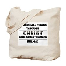 Unique Scripture Tote Bag
