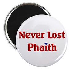 "Never Lost Phaith 2.25"" Magnet (10 pack)"