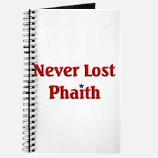 Never Lost Phaith Journal