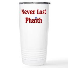 Never Lost Phaith Thermos Mug