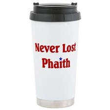 Never Lost Phaith Travel Mug