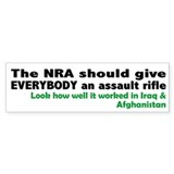 Anti nra Bumper Stickers
