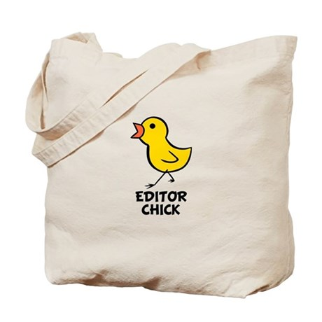 Editor Chick Tote Bag
