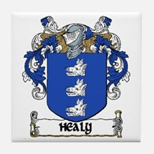 Healy Coat of Arms Ceramic Tile