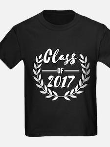 Class of 2017 Wreath Graduation Gift T-Shirt