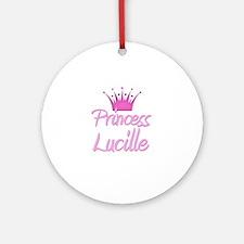 Princess Lucille Ornament (Round)