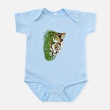 Cheetah Face Infant Bodysuit