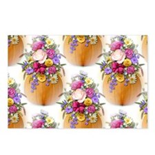 Pumpkin Bouquet Postcards (Package of 8)