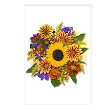 Autumn Bouquet Postcards (Package of 8)