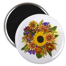 """Autumn Bouquet 2.25"""" Magnet (10 pack)"""