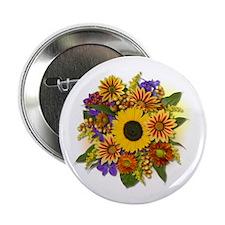 """Autumn Bouquet 2.25"""" Button (100 pack)"""