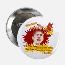 "Obama Spread the Wealth 2.25"" Button"