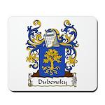 Dubensky Family Crest Mousepad
