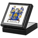 Dubensky Family Crest Keepsake Box