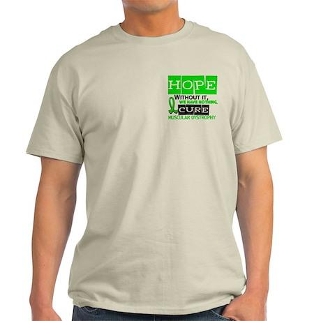 HOPE Muscular Dystrophy 2 Light T-Shirt