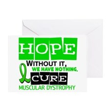HOPE Muscular Dystrophy 2 Greeting Card