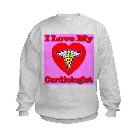 I Love My Cardiologist Kids Sweatshirt