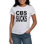 CBS Sucks Women's T-Shirt