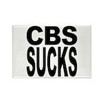 CBS Sucks Rectangle Magnet