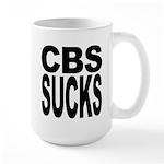 CBS Sucks Large Mug