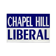 Chapel Hill Liberal (fridge magnet)