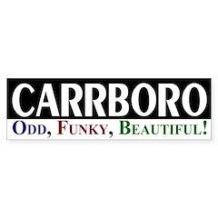 Carrboro: Odd, Funky, Beautiful!