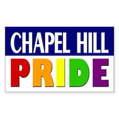 Chapel Hill Pride (bumper sticker)