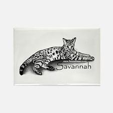 Savannah Rectangle Magnet