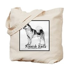 Finnish Spitz 2 Tote Bag
