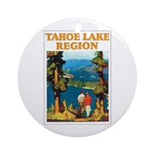 Lake Tahoe Keepsake (Round)