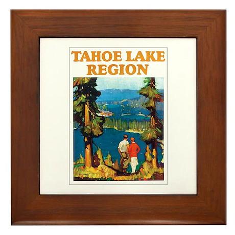 Lake Tahoe Framed Tile