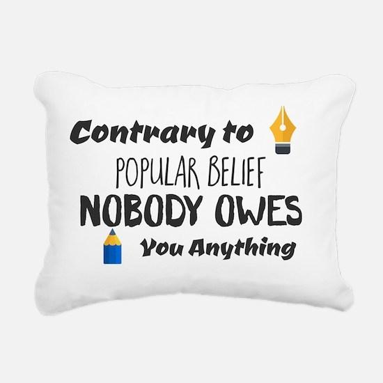 Cute Popular Rectangular Canvas Pillow