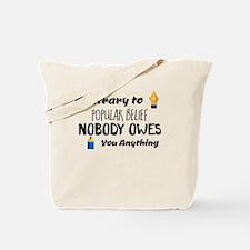 Cute Belief Tote Bag