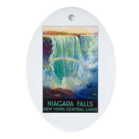 Niagara Falls Keepsake (Oval)