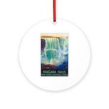 Niagara Falls Keepsake (Round)