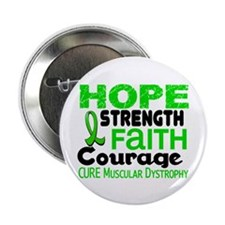 "HOPE Muscular Dystrophy 3 2.25"" Button (10 pack)"