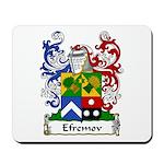 Efremov Family Crest Mousepad