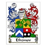 Efremov Family Crest Small Poster