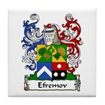 Efremov Family Crest Tile Coaster