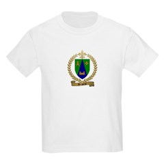 DRAPEAU Family Crest Kids T-Shirt