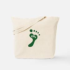 Carbon Footprint Foot Tote Bag